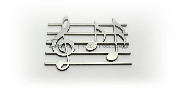 Edelstahl Ornamente – Muzik