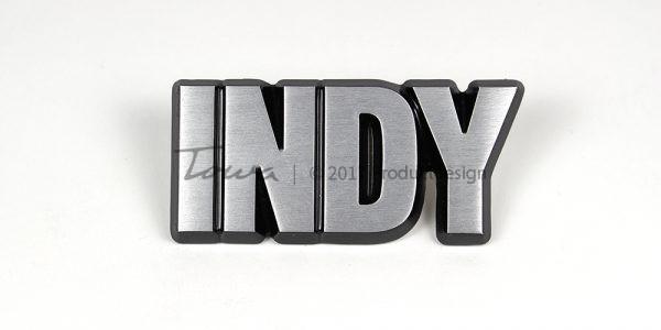 Aluminium-schriftarten Indy