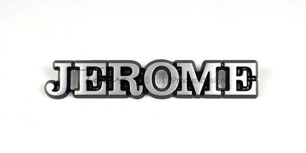 Aluminium-schriftarten Jerome