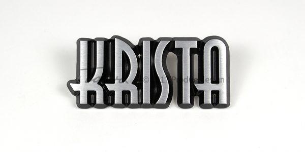 Aluminium-schriftarten Krista