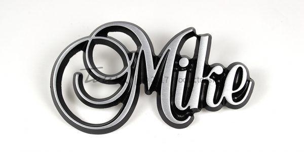 Aluminium-schriftarten Mike