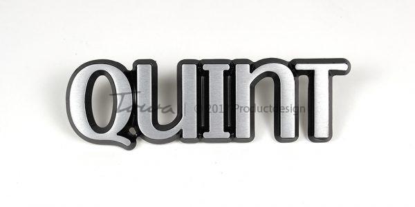 Aluminium-schriftarten Quint