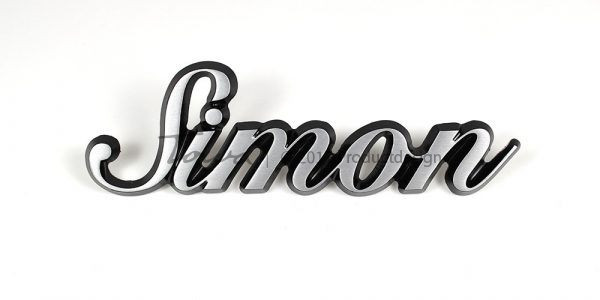 Aluminium-schriftarten Simon