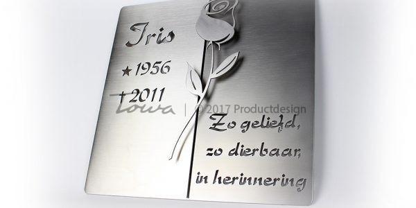 Gedenkplatte